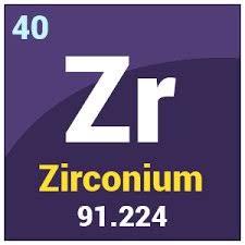 پاورپوینت کامل و جامع با عنوان بررسی کامل عنصر زیرکونیم در 29 اسلاید