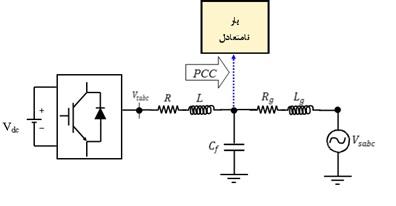 مقاله فارسی با عنوان کنترل نامتعادلی ولتاژ در ریزشبکه با یک واحد تولید پراکنده متصل به شبکه و بهینه سازی با PSO به صورت Word در 10 صفحه