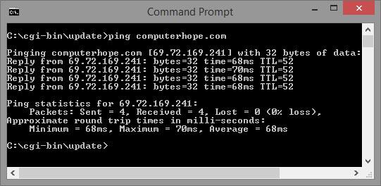 پاورپوینت کامل و جامع با عنوان دستور Ping (پینگ) در کامپیوتر در 27 اسلاید
