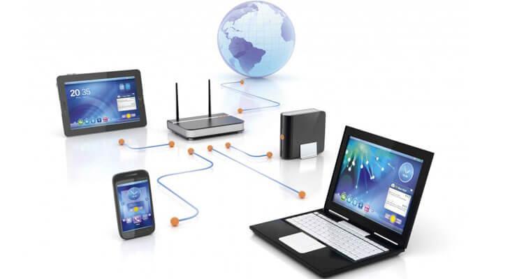 پاورپوینت کامل و جامع با عنوان مبانی و مفاهیم شبکه های کامپیوتری در 70 اسلاید