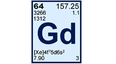 پاورپوینت کامل و جامع با عنوان بررسی عنصر گادولینیم در 25 اسلاید