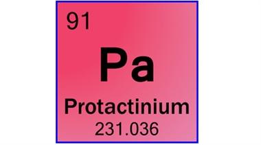 پاورپوینت کامل و جامع با عنوان بررسی عنصر پروتاکتینیم در 33 اسلاید