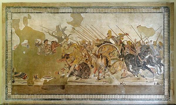 پاورپوینت کامل و جامع با عنوان نبرد ایسوس در 24 اسلاید