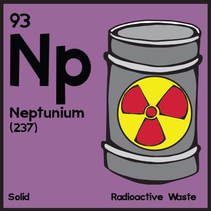 پاورپوینت کامل و جامع با عنوان بررسی عنصر نپتونیم در 20 اسلاید