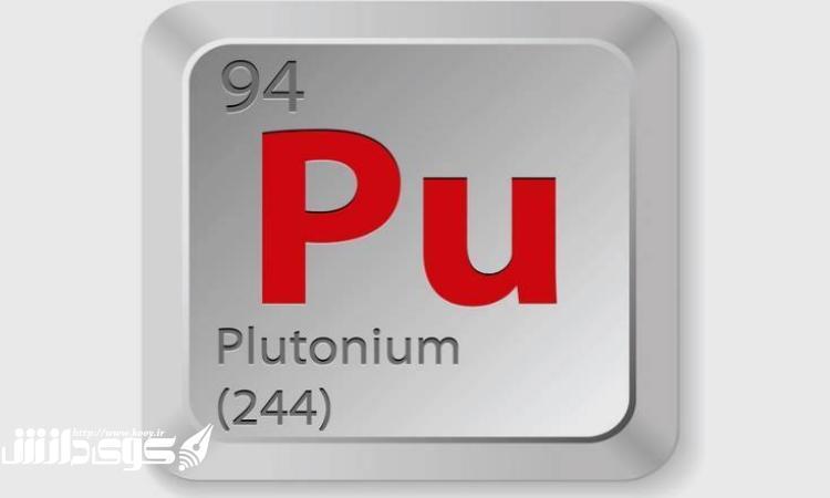 پاورپوینت کامل و جامع با عنوان بررسی عنصر پلوتونیم در 27 اسلاید