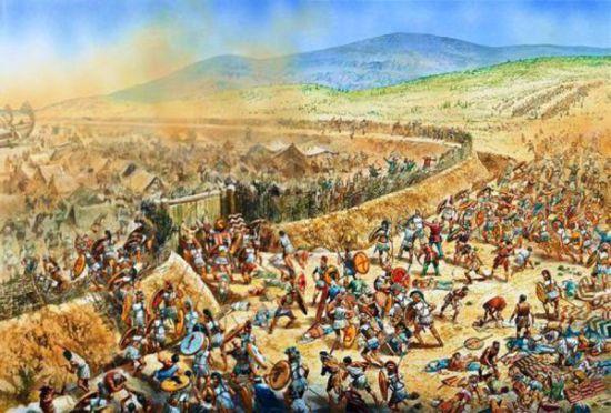 پاورپوینت کامل و جامع با عنوان نبرد پلاته در 22 اسلاید