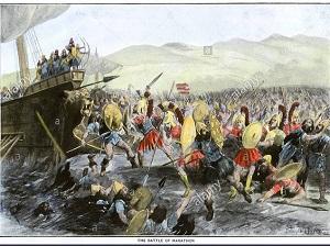 پاورپوینت کامل و جامع با عنوان نبرد ماراتن در 46 اسلاید