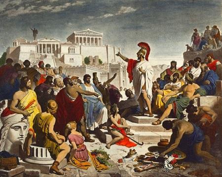پاورپوینت کامل و جامع با عنوان جنگ پلوپونز در 27 اسلاید