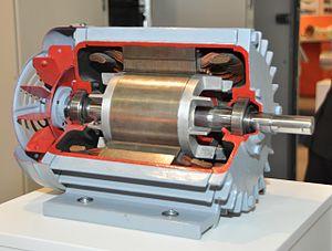 پاورپوینت کامل و جامع با عنوان بررسی موتور الکتریکی و انواع و ویژگی های آن در 56 اسلاید
