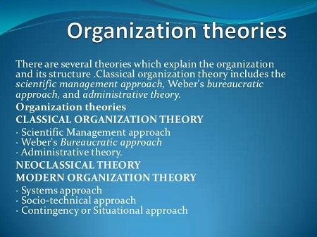 پاورپوینت کامل و جامع با عنوان تئوری های کلاسیک سازمان در 31 اسلاید