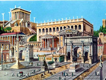 پاورپوینت کامل و جامع با عنوان درآمدی بر شهرسازی امپراتوری روم در 45 اسلاید