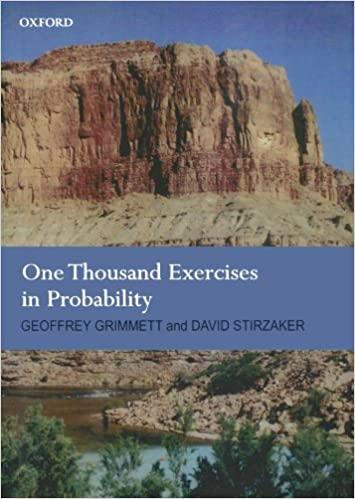 حل مسائل کتاب 1000 تمرین در احتمال تالیف گریمت و استیرزاکر به صورت PDF و به زبان انگلیسی در 448 صفحه