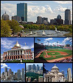 پاورپوینت کامل و جامع با عنوان بررسی شهر بوستون در 17 اسلاید