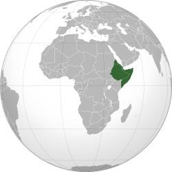 پاورپوینت کامل و جامع با عنوان بررسی شاخ آفریقا در 22 اسلاید