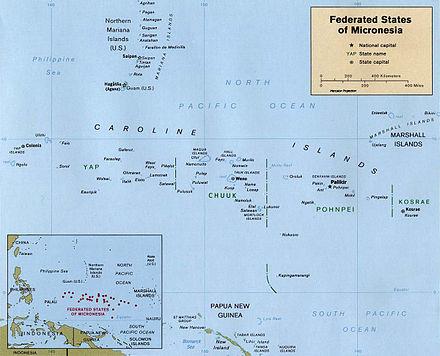 پاورپوینت کامل و جامع با عنوان بررسی تاریخ ایالات فدرال میکرونزی در 20 اسلاید