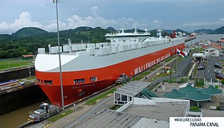 پاورپوینت کامل و جامع با عنوان بررسی کانال پاناما در 15 اسلاید