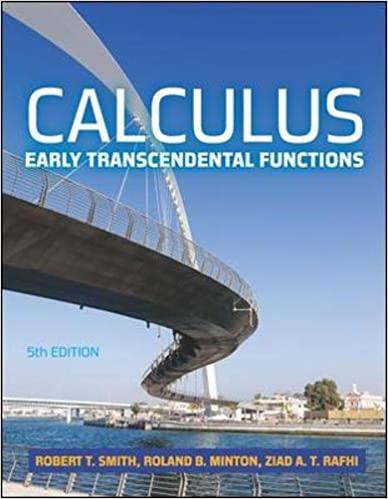 حل مسائل حساب دیفرانسیل و انتگرال، توابع متعالی اولیه روبرت اسمیت به صورت PDF و به زبان انگلیسی در 945 صفحه