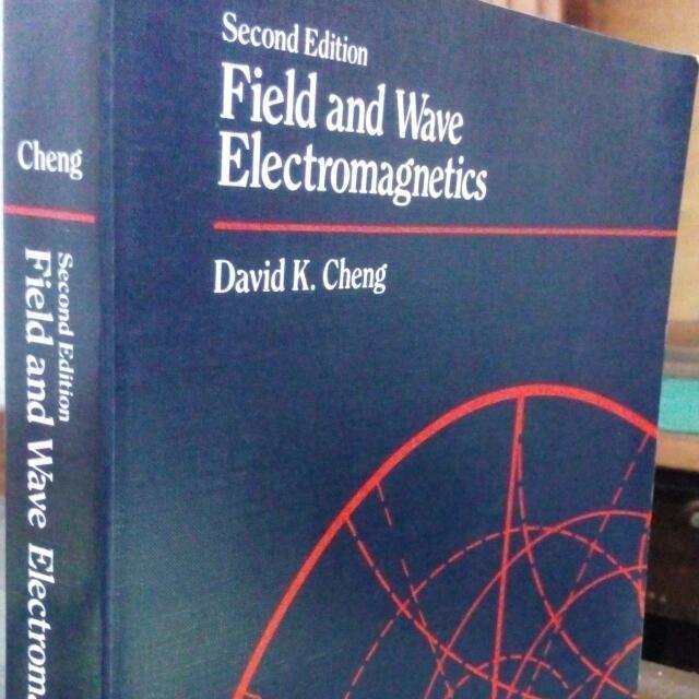 کتاب الکترومغناطیس میدان و موج دیوید چنگ ویرایش دوم به صورت PDF و به زبان انگلیسی در 720 صفحه