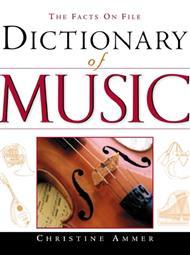 فرهنگ لغات تخصصی موسیقی انگلیسی