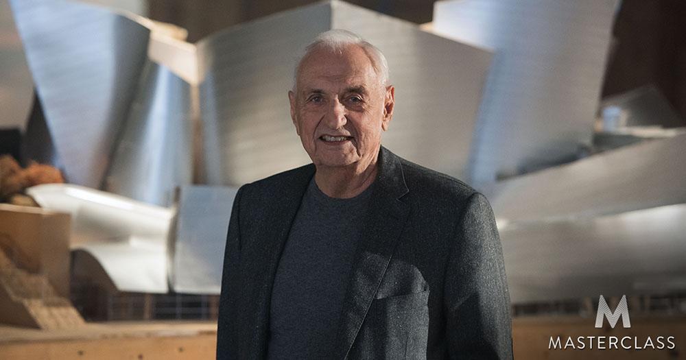 دوره آموزشی معماری MasterClass  Frank Gehry Teaches Design and Architecture