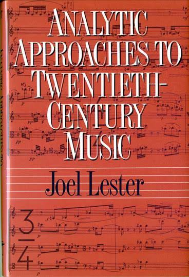 Analytic Approaches to Twentieth Century Music