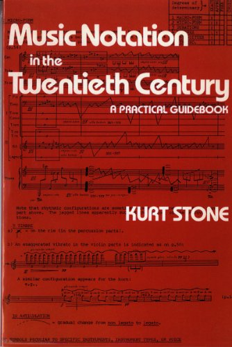 Music Notation in the Twentieth Century_ A Practical Guidebook