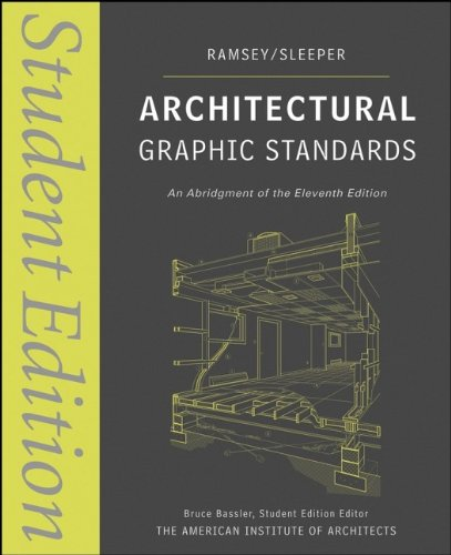 کتاب Architectural Graphic Standards