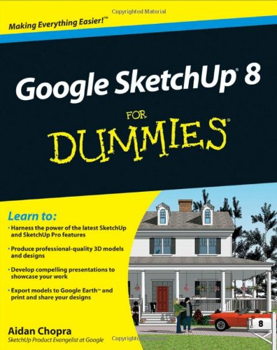 کتاب Google SketchUp 8 For Dummies