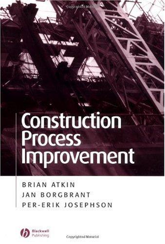 Construction Process Improvement