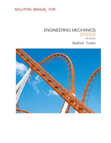 Solution of Engineering Mechanics_ Statics