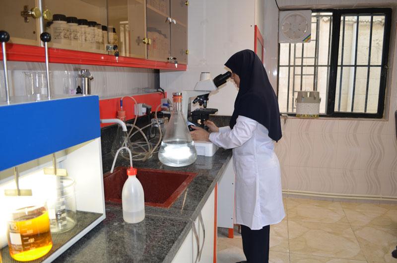 دانلود گزارش کارآموزی رشته شیمی کاربردی با موضوع آزمایشگاه آب