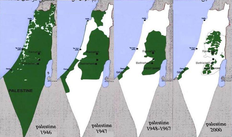 دانلود پاورپوینت بررسي روند اشغال و آزادسازي فلسطين