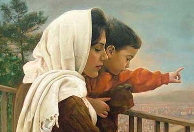 دانلود پاورپوینت عظمت و مقام مادر