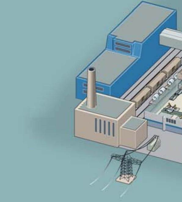 دانلود پاورپوینت بررسي طرح احداث نيروگاه برق و حرارت