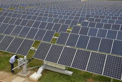 دانلود پاورپوینت معرفی طرز کار نیروگاه خورشیدی