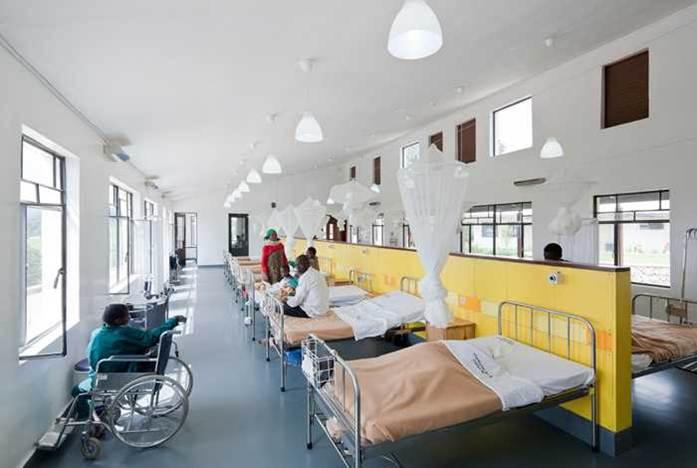 دانلود پاورپوینت طراحی معماری بخش بستری بیمارستان