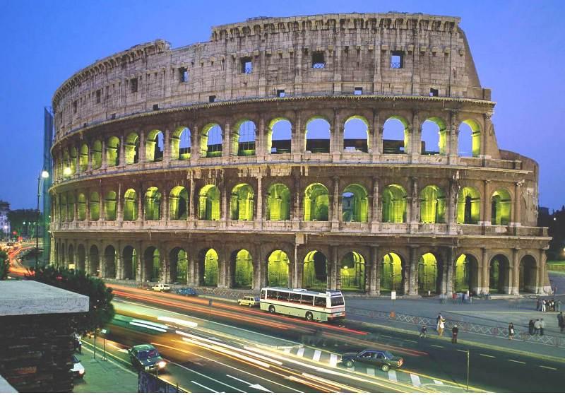 دانلود پاورپوینت آشنایی با معماری روم باستان
