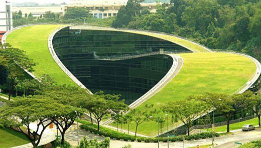 دانلود پاورپوینت طبيعت سبز در معماری(معماری سبز)
