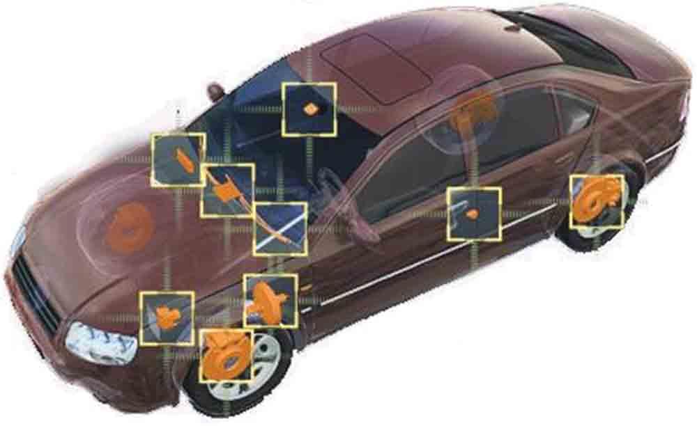 دانلود پاورپوینت سیستمهای پیشرفته الکترونیکی برای پایداری خودرو