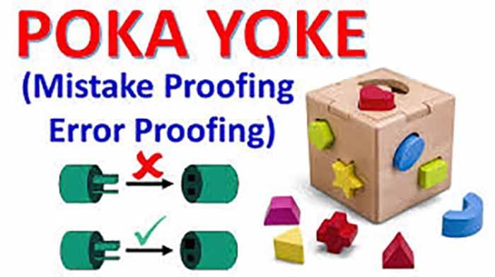 دانلود پاورپوینت خطا ناپذيرسازی(Poka Yoke)