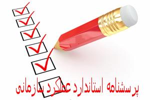 پرسشنامه استاندارد عملکرد سازمانی
