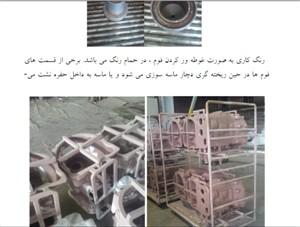 گزارش کار اموزی ریختگری در شرکت تراکتور سازی