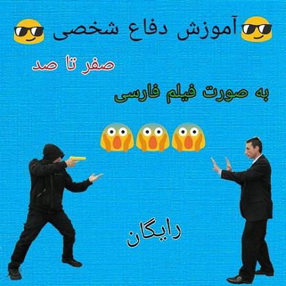 آموزش صفر تا صد دفاع شخصی (فارسی)