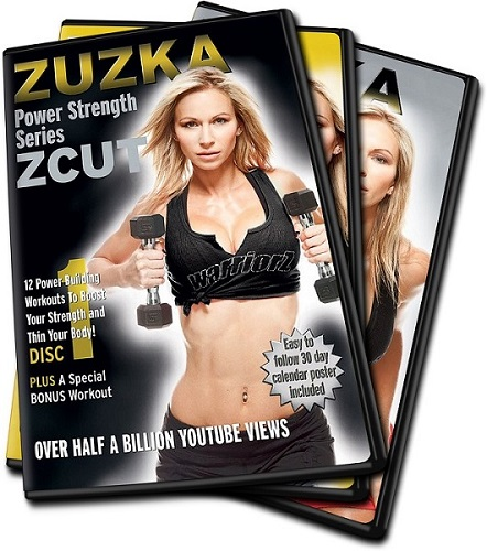 کاملترین پک آموزشی فرم دهی و سفت کردن بدن با سری مجموعه تمرینات Strength زوزکا(ZUZKA)