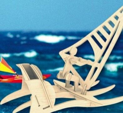 جامدادی قایق بادبانی