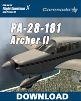 Carenado  PA 28 181 Archer II