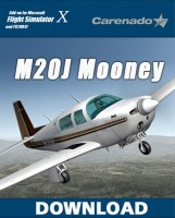 Carenado - M20J Mooney
