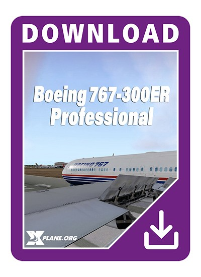 boeing 767 flight factor x-plane
