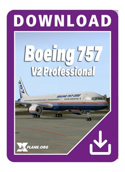 Boeing 757 flight factor X-plane