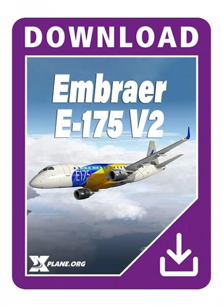 Embraer E-175 x-plane